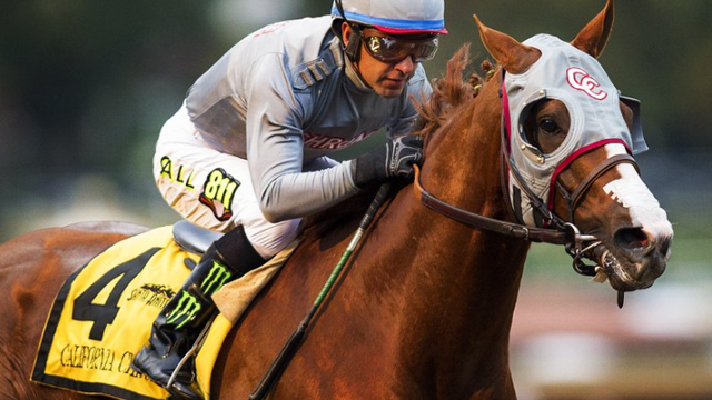 It's Post Time by Jon White: Chrome Eyes Money Record