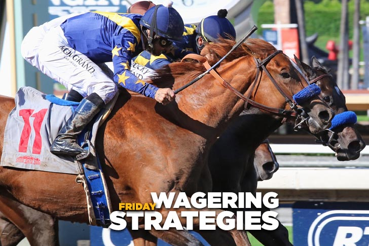 Jeff Siegel's Blog: Wagering Strategies (SA, Kee) for April 21, 2017