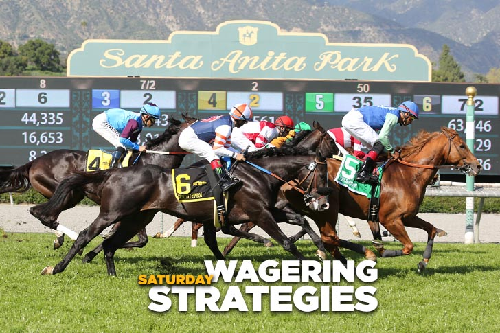 Jeff Siegel's Blog: Wagering Strategies (SA, Kee) for April 15, 2017
