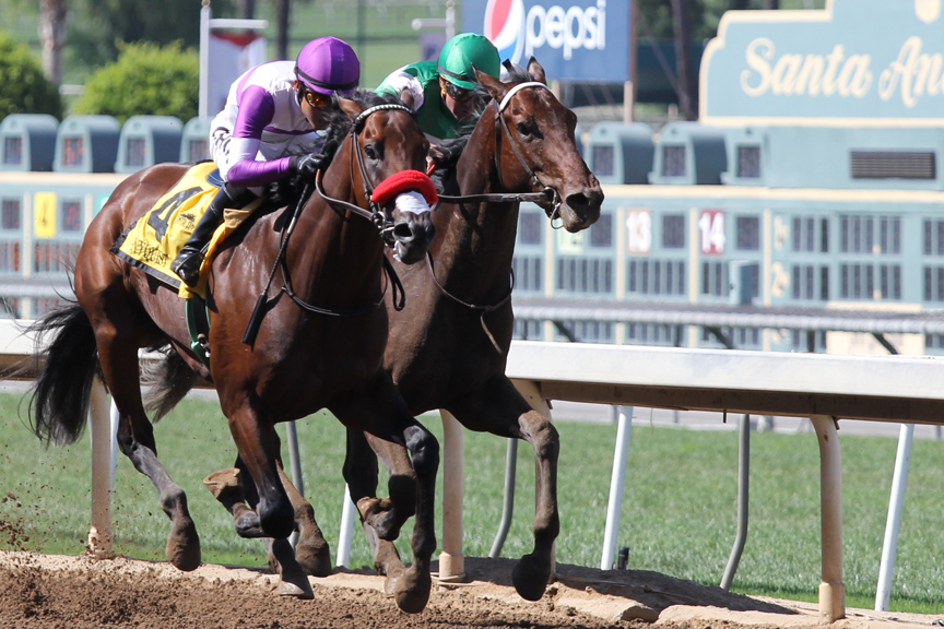 On Track with Johnny D: Nyquist Moves to Head of Class