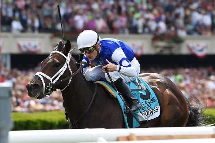 It's Post Time by Jon White: Tepin Makes History