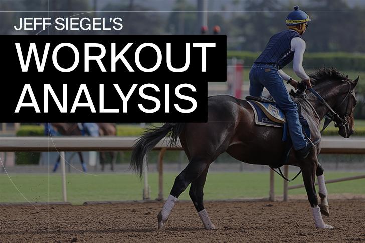 Jeff Siegel's Blog: Santa Anita Workout Report (Updated March 19, 2021)