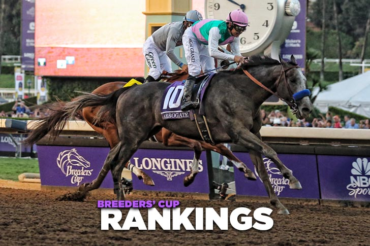 Jeff Siegel's Blog: 2017 Breeders' Cup Elite-8 Rankings (Oct. 29, 2017)
