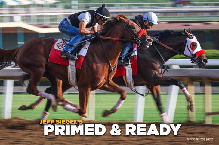 "Jeff Siegel's Blog: Clocker's ""Primed and Ready List"" (Updated Sept. 1, 2021)"