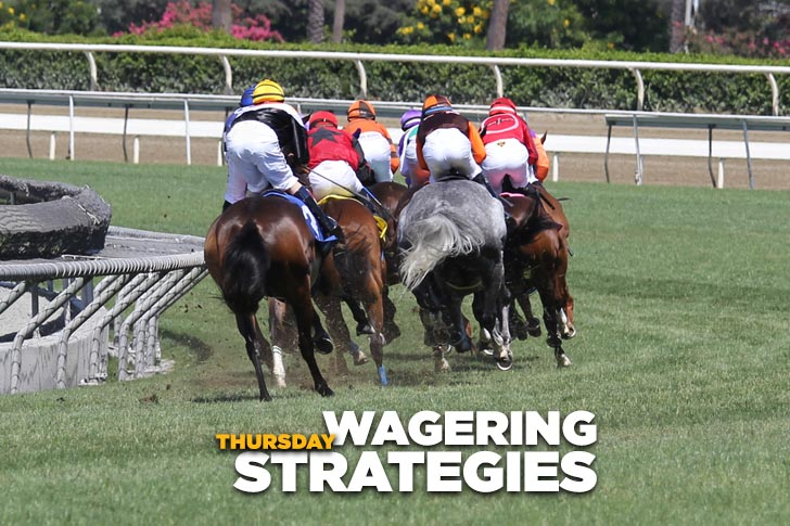 Jeff Siegel's Blog: Wagering Strategies (Dmr, Sar) for August 24, 2017