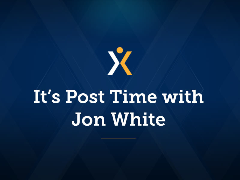 It's Post Time by Jon White: Good Racing at Santa Anita A Welcome Diversion