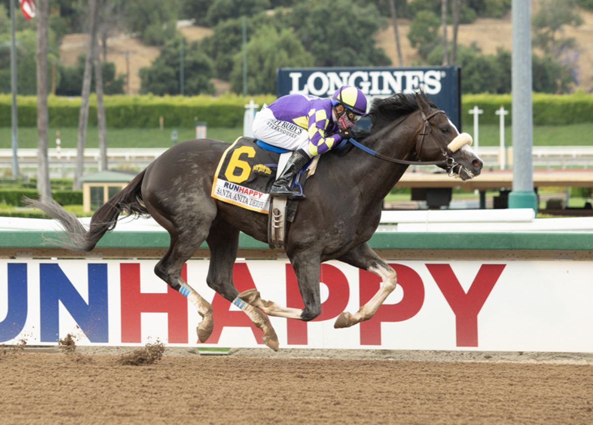 It's Post Time By Jon White: Honor A.P. Raises Game and Takes Santa Anita Derby