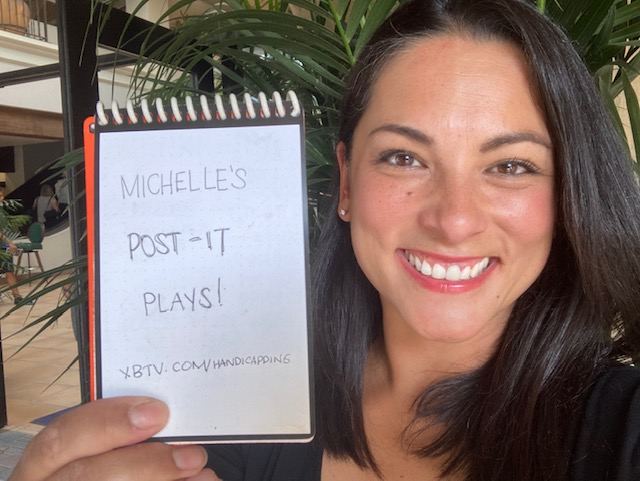 Michelle's Post It Plays: Del Mar—Friday, August 20, 2021